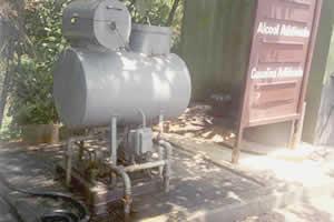 Filtro de diesel - ponto normalmente sujeito a vazamentos Investigação em postos (continuação)