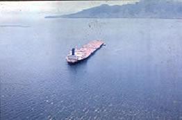 Petroleiro Brazilian Marina no Canal de São Sebastião – Jan./1978