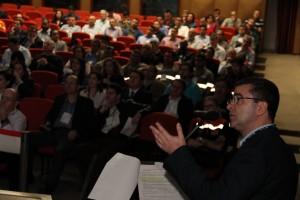 Palestra de Jorge Gouveia, gerente do Setor de Atendimento a Emergências.