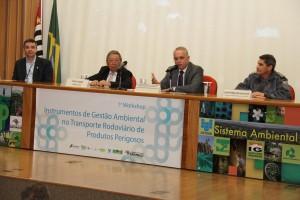 Presença do Secretário Chefe da Casa Militar - Coronel PM José Roberto de Oliveira.