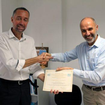 Projeto brasileiro de refrigeração recebe certificados de prêmio internacional