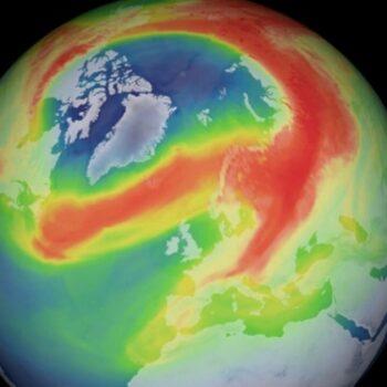 Detectado buraco incomum na camada de ozônio sobre o Ártico