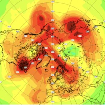 Depois de quase um mês, o maior buraco na camada de ozônio já registrado sobre o Ártico fechou