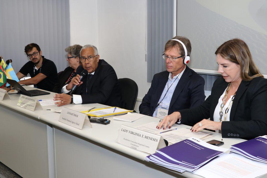 Treinamento sobre Estratégias para a Gestão Adequada de Produtos Químicos