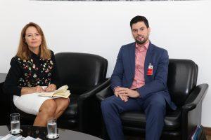 Patrícia Iglecias e Gustavo Henric Costa