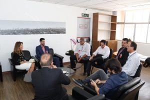 Reunião técnica sobre a gestão de resíduos municipais