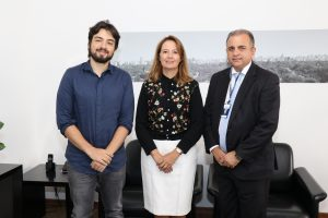 Lucas Pocay Alves da Silva, Patrícia Iglecias e secretário de Serviços Públicos de Ourinhos Edmilson Americano