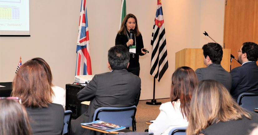 Patrícia Iglecias apresenta a CETESB na Britcham