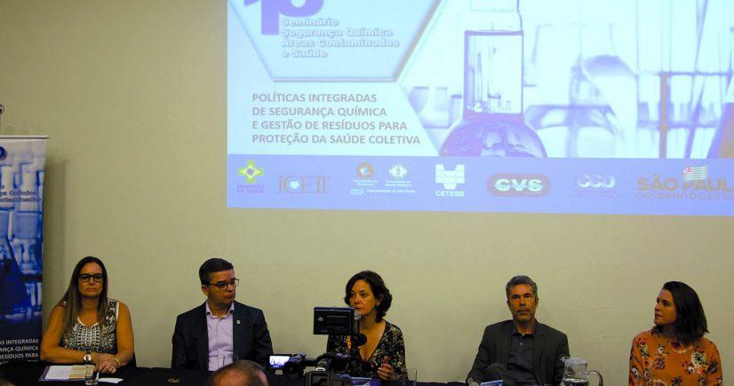CETESB e CVS realizam palestras e treinamento sobre gestão de produtos químicos