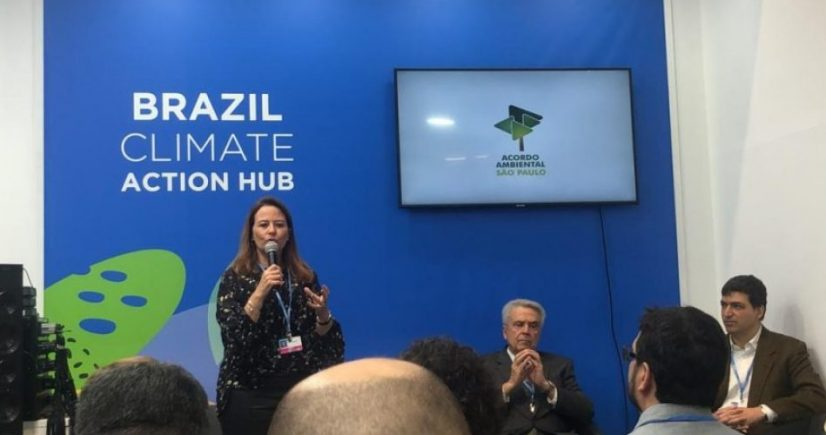 Acordo Ambiental São Paulo apresentado na Feira Conexão Carbono Zero