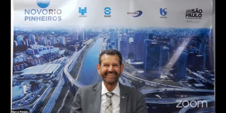 Secretário de Infraestrutura e Meio Ambiente - Marcos Penido