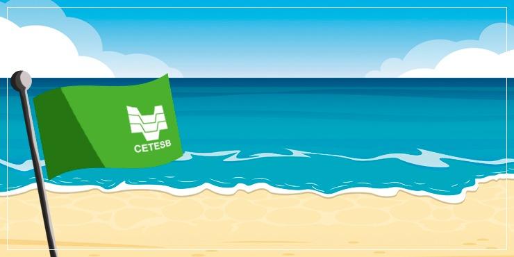 Litoral paulista apresenta praias próprias para o banho de mar